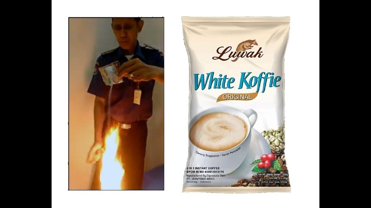 Hasil gambar untuk kenapa Luwak White Coffee mudah Terbakar