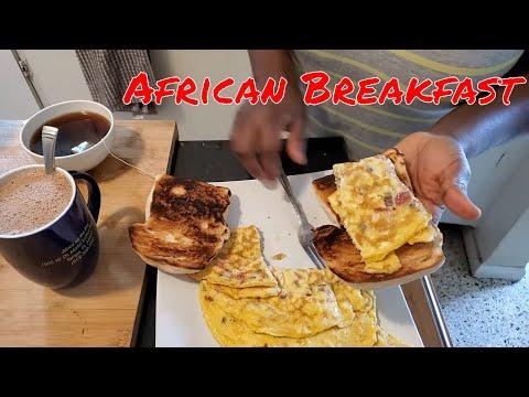 What Africans Eat For Breakfast | Tea Bread & Milo