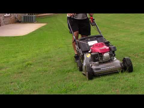 HONDA HR214 mower with electric start demo for sale on North