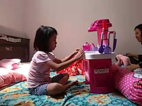 Aleyya mainan kitchen set youtube for Kitchen set mainan