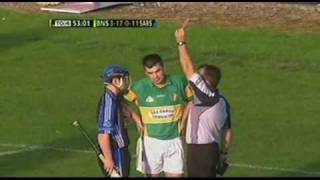 Hurling fight - Sarsfields v Newtownshandrum