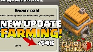 "Clash Of Clans - ""NEW UPDATE!"" TH6 FARMING BASE! / CoC BEST TOWN HALL 6 HYBRID BASE DEFENSE 2015!"