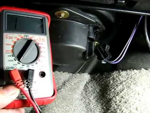 Heater Blower Motor Troubleshooting YouTube