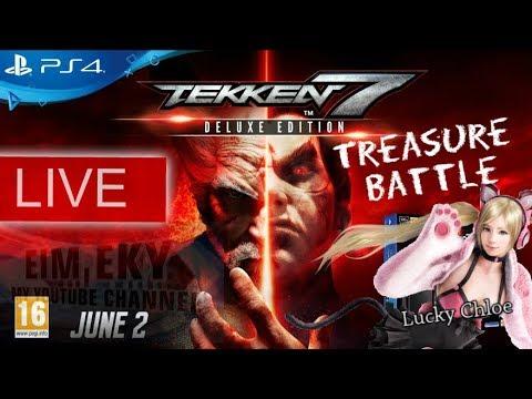 TEKKEN 7SEVEN (Treasure Battle) Lucky Chloe- Live PS4 MALAYSIA _16/9/2017