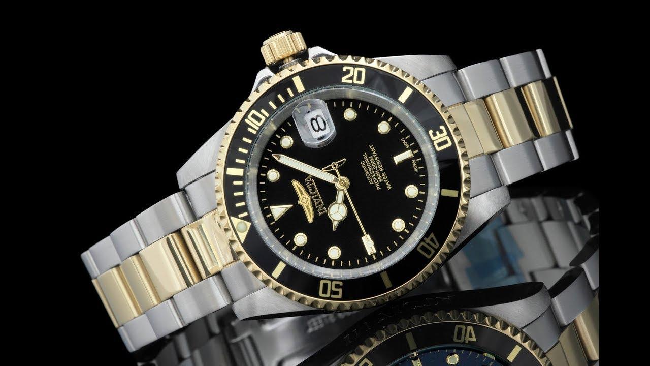 Invicta pro diver quartz watch model 8934