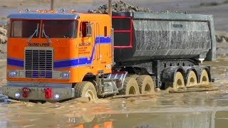 Best Of RC Vehicles! Fantastic Globe Liner 6x6 in Action! Cool RC Truck In The Mud!