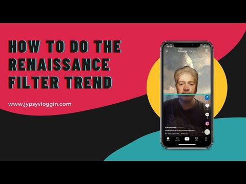 How to do the renaissance filter trend on Instagram and TikTok