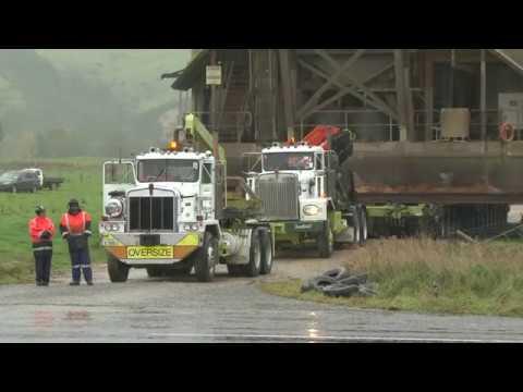 Waikaia Gold Wash Plant Shift, Northern Southland
