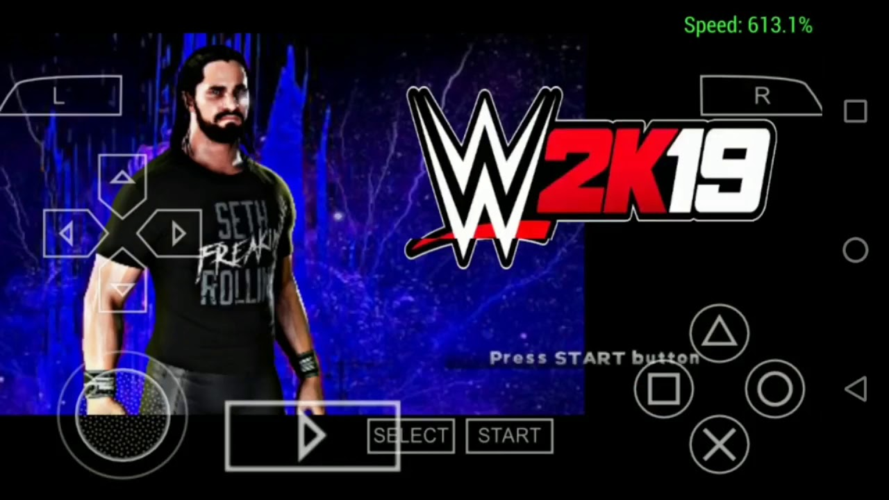Wwe 2k19 download for Android||ppsspp||highly compressed||