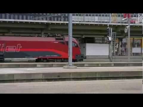Railjet Zürich HB - Wien Westbf.