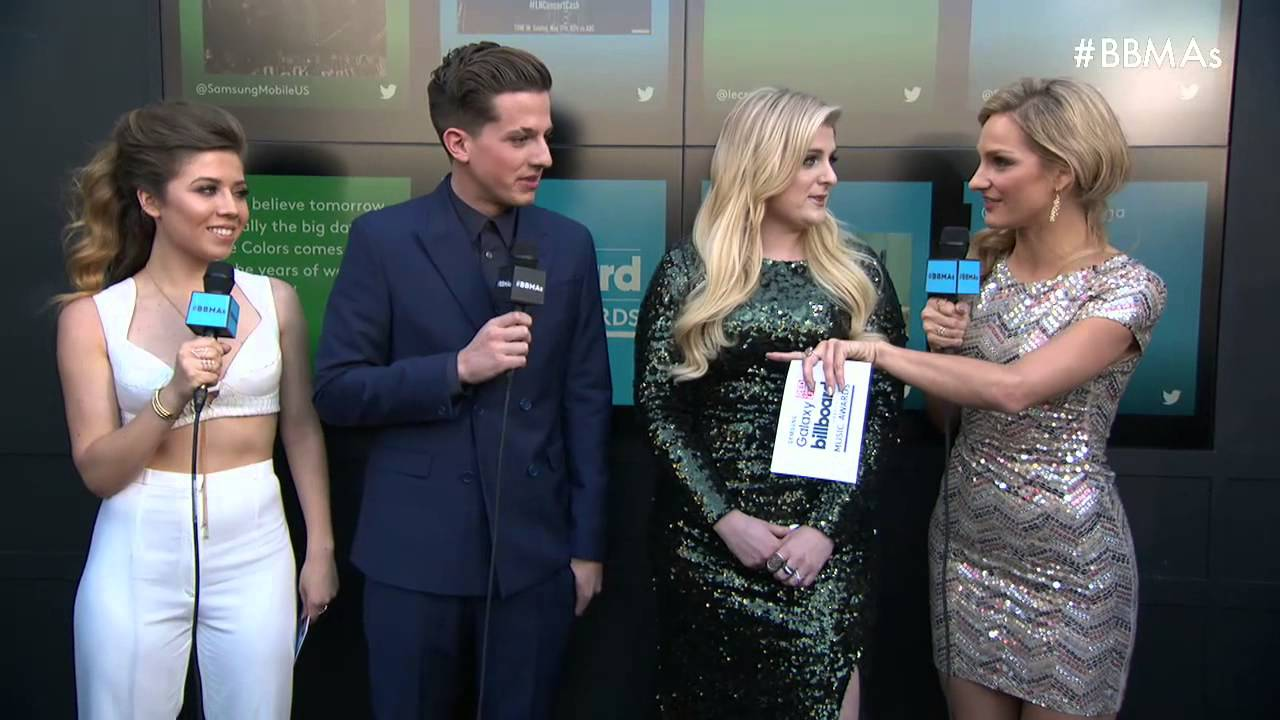Are Charlie Puth amp Meghan Trainor Dating Their AMAs Kiss