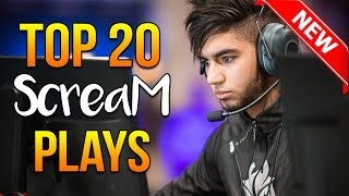 Video Top 20 ScreaM Plays Ever ★ CS:GO download MP3, 3GP, MP4, WEBM, AVI, FLV Juli 2018