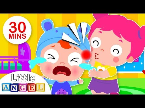 Oh No! Baby Got A Boo Boo! | No No Song | Kids Songs And Nursery Rhymes By Little Angel