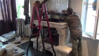 Монтаж камина в загородном доме(Установка каминного комплекта в загородном доме специалистами нашего магазина www.webkamin.ru., 2012-07-02T09:00:35.000Z)