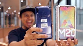 Unboxing Samsung M20 Indonesia