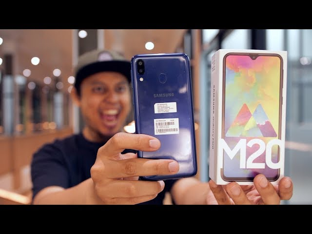Unboxing Samsung M20 Indonesia