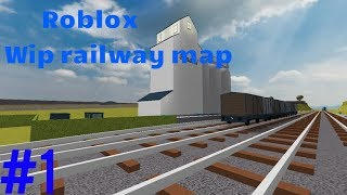 Roblox Wip railway map#1 Thomas And Friends With jet engine