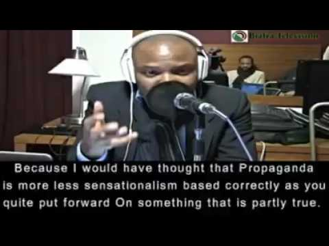 NNAMDI KANU DEFENDS HIS STAND ON WHY HE CALLS NIGERIA A ZOO.