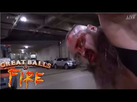 BLOODY CRASH WWE GREAT BALLS OF FIRE 2017 REVIEW REACTION AND RESULTS