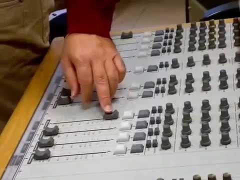 Radio guida 2 Control Room Studio Audio