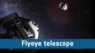 Flyeye: the bug-eyed telescope monitoring our skies