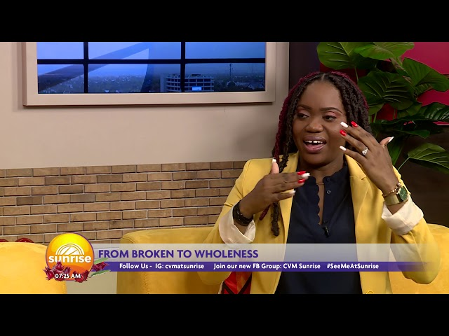 Broken to Whole with Kerrica Mcgregor: Growing through the Obstacles | Sunrise | CVMTV
