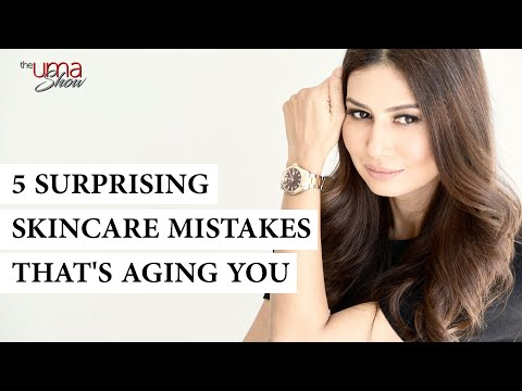5 Surprising Skincare Mistakes That's Aging You