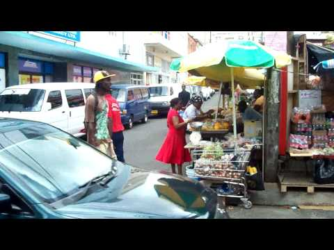 Down Town A St. George's, Grenada