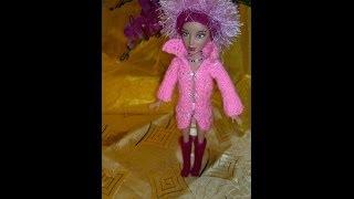 ВЯЗАНИЕ ДЛЯ КУКОЛ.Liv Doll clothes- 2 hand made,brand new.Slide Show.Liv кукла, вязанная одежда.