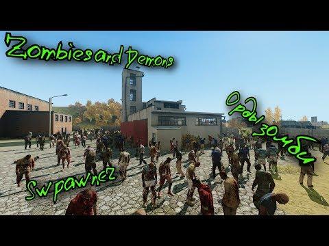[ArmA 3 редактор] Zombies And Demons - создание орд зомби. Модуль Spawner