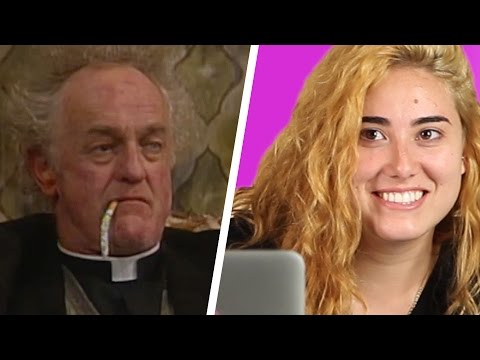 Americans Watch Father Ted For The First Time