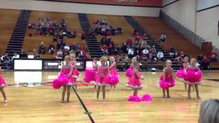 Lauren's first dance performance