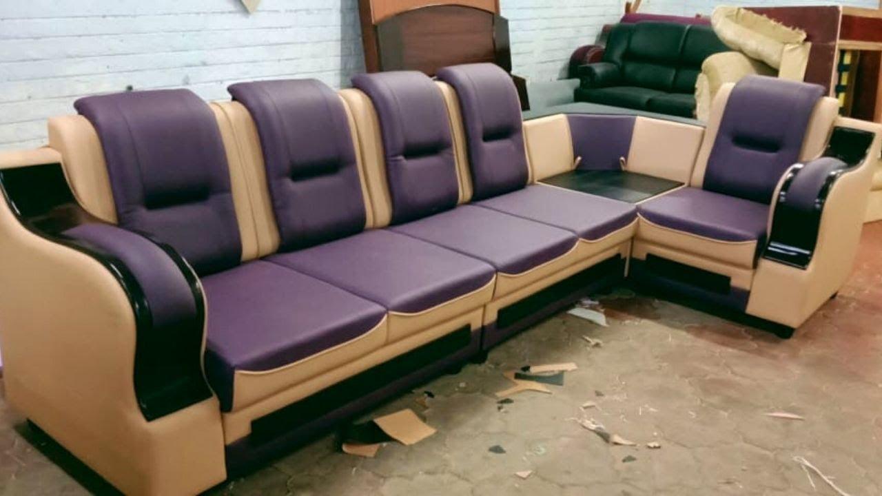 New Model Sofa Designs | L shape Sofa Overview | Corner ...