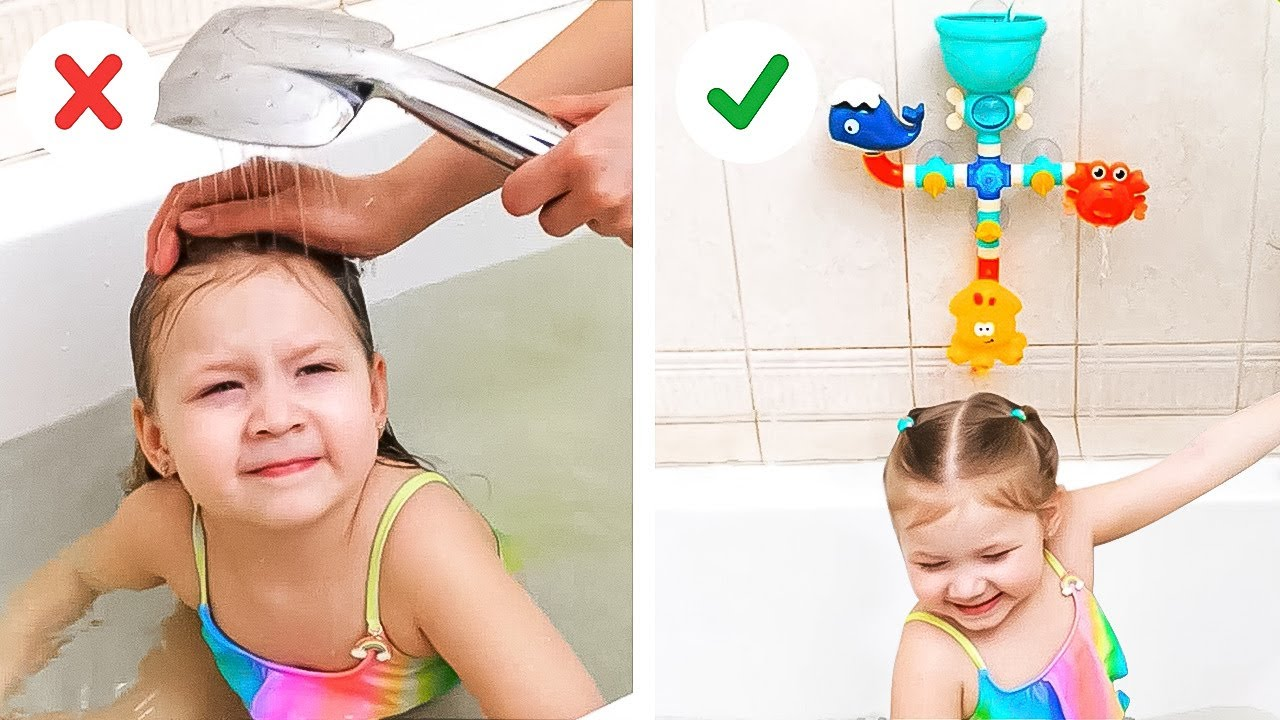 Brilliant Bathroom Hacks To Make Your Life Easier! Cool Ideas For Parents By A PLUS SCHOOL