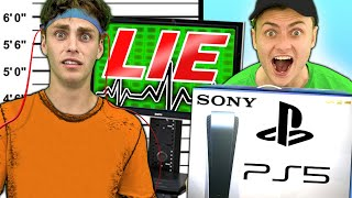 I FOUND MY STOLEN PS5 WITH LIE DETECTOR!!