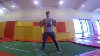 Прыжки на Батутах. Обучение #8: Передний Кувырок