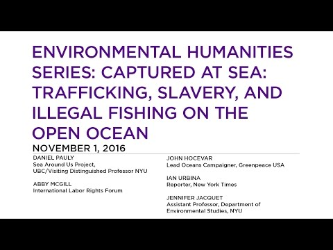 Environmental Humanities Series: Captured At Sea: Trafficking, Slavery, and Illegal Fishing