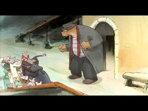 Ernest Celestine Official Trailer A Cesar Winning Animated Picture Youtube