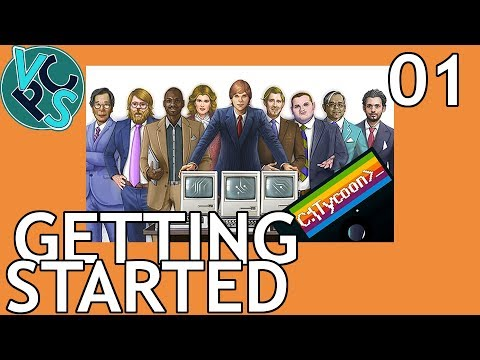 Getting Started : Computer Tycoon EP01 - Grand Strategy Tycoon PC Manufacturer