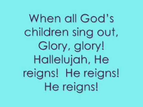 He Reigns - Newsboys - lyrics on screen!