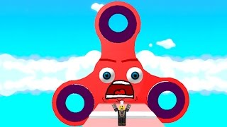 ESCAPE THE MASSIVE FIDGET SPINNER (Roblox)