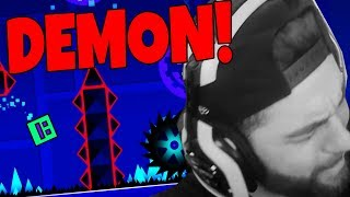 JEV PLAYS GEOMETRY DASH DEMON LEVELS