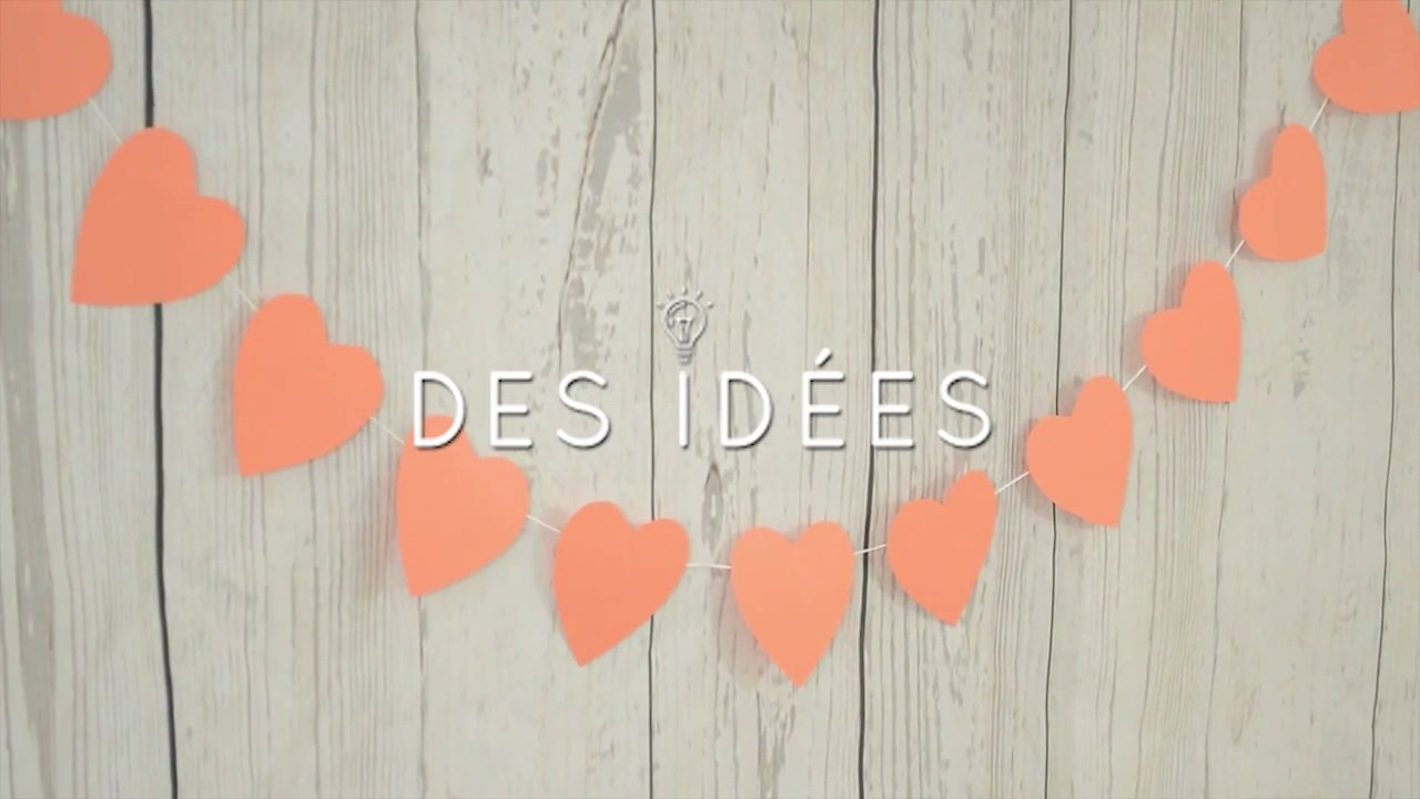 Tuto Facile Realisez Une Guirlande De Coeur Speciale St Valentin