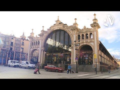 El Ayto de Zaragoza saca a concurso 74 puestos en el Mercado Central por 56.000 euros de media