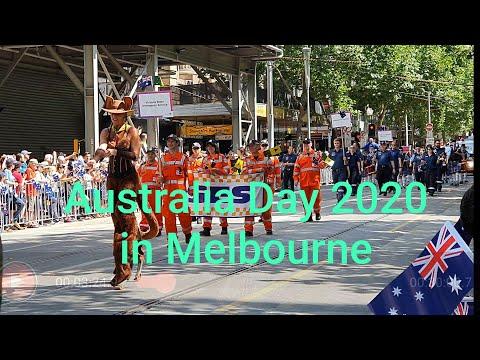 #Australia Day 2020 In Melbourne