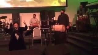 Shazia Manzoor balle balle Manchester 2015 short clip