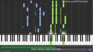 Bruno Mars - It Will Rain (Piano Cover) by LittleTranscriber Thumbnail