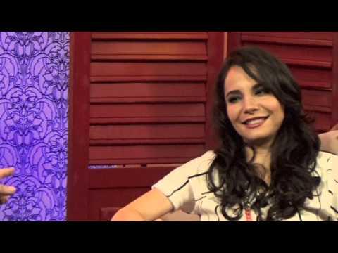 Martha Higareda y Diego Alfaro*Detrás del Diablito Show XX