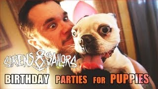 Watch Sirens  Sailors Birthday Parties For Puppies video