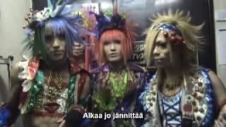 Aicle. Tsukicon 2009 Comment Video ~Finnish & English subtitles~